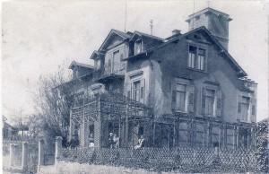 Das Gebäude nach Umbau um 1910